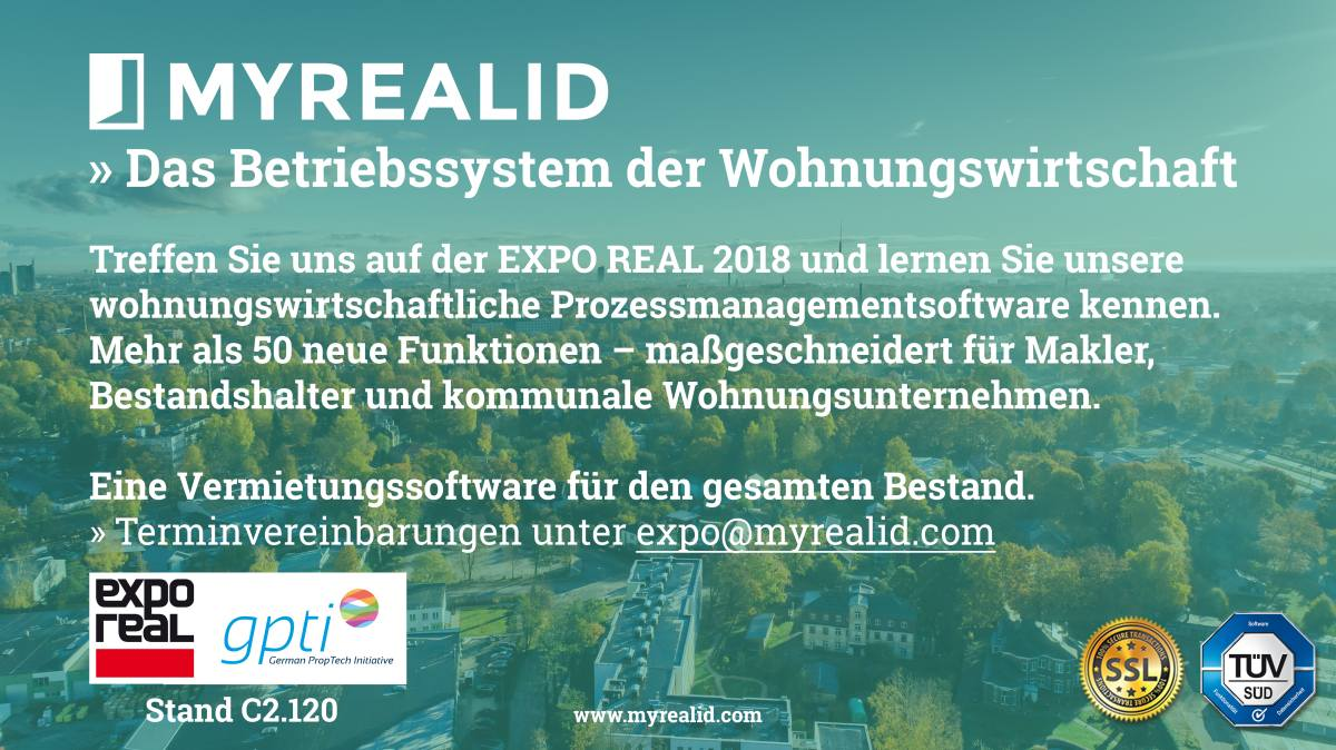 My Real Id Auf Der Expo Real 2018 My Real Id Blog Deutsch